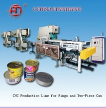 High quality two piece metal can ends and lid making machine