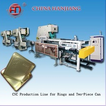 High quality automatic two Pieces tin can making line