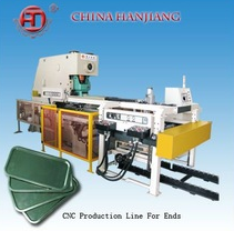 Automatic printing ink two piece tin can making machine production line