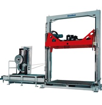 Pallet strapper/vertical