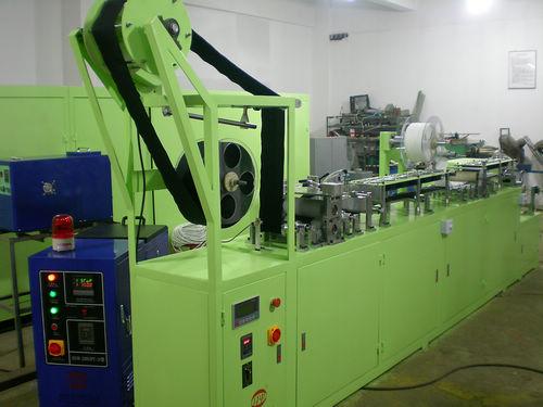 Спинная клеильной машина липучки (рекомбинатор застежки-липучки)