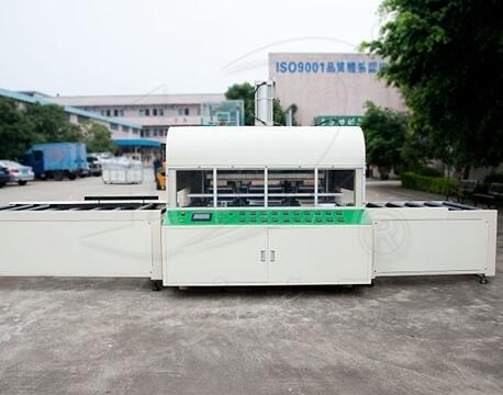Автоматическая сварочная машина пластмассовым поддоном