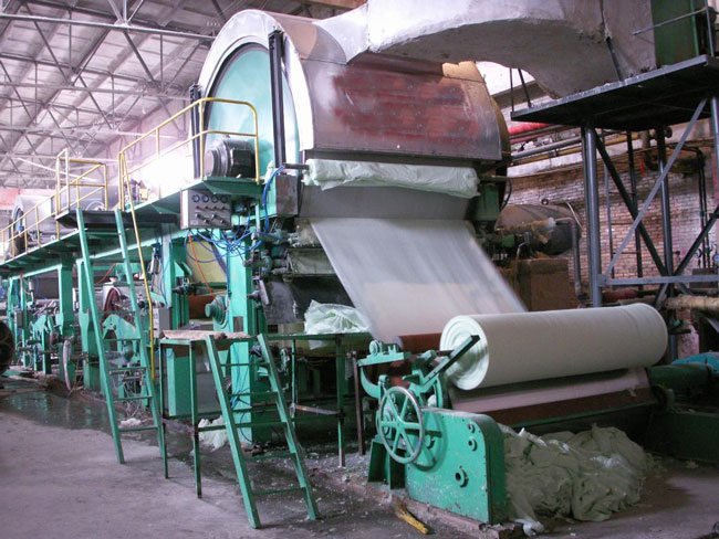 1092-2400mm tissue paper machine