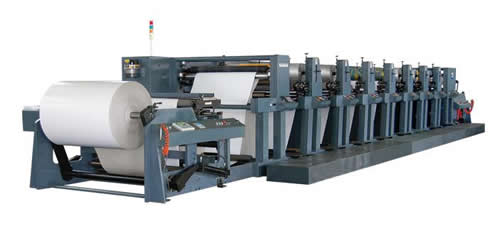 Extra-wide Web Flexo Printing Machine