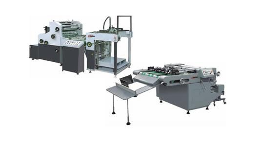 Automatic Glue Laminator & Offline Sheet Separator