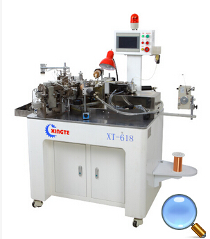 XT-618 Fully Automatic 6 Spindles Coil Winding Machine(Stretching function)