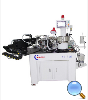 XT-609S 6 Spindles Fully Automatic Voice Winding Machine(Soldering and dispensing Function)