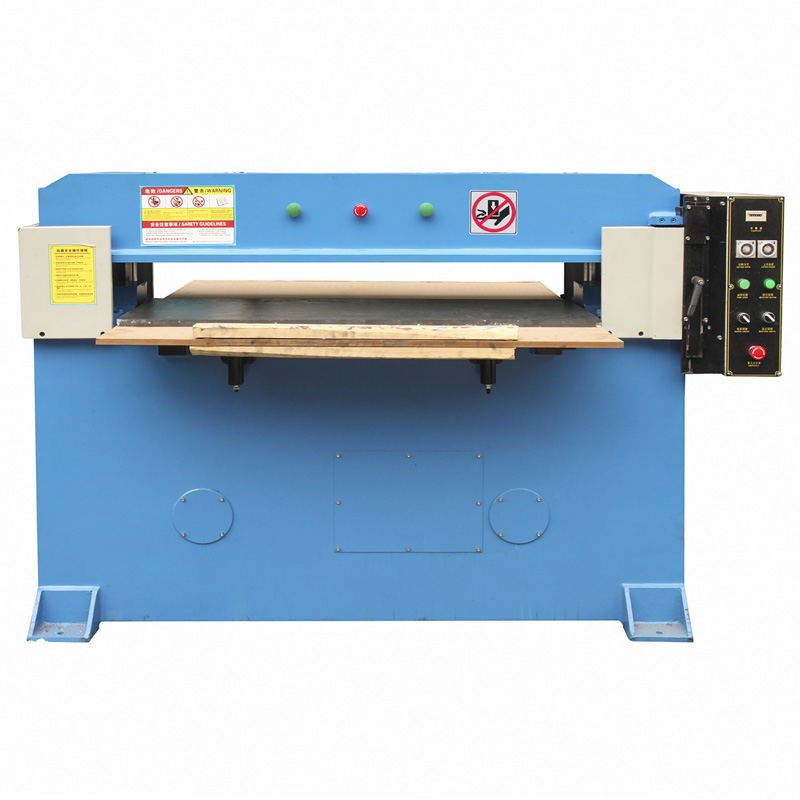 Blister cutting bed machine