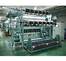 Double Needle Beds Jacquard Raschel Warp Knitting Machine