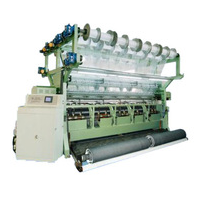 Double Needle Bed Raschel Blanket Knitting Machine For Spacer Fabrics and Carpet