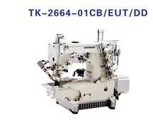 TOPEAGLE TK-2664-01CB/EUT/DD Direct Drive Cylinder Bed Interlock Machine