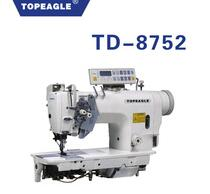 TOPEAGLE TD-8752M 2-needle Split Needle Bar lockstitch sewing machine With Automatic Trimmer
