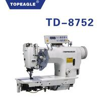 TOPEAGLE TD-8752M 2-needle Split Needle Bar Walk Foot Sew Machine With Automatic Trimmer