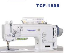 TOPEAGLE TCF-1898 compound feed single needle leather bag sewing machine