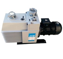 2XZ-25B direct-coupled two stage rotary vane vacuum pump
