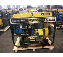 5KW key start open-frame air-cooled diesel generator for home and outdoor activity use (KDE6500E)