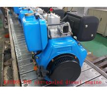 Single-Cylinder and Four-stroke air-cooled 8HP diesel engine for boat and pump use(KA186F)
