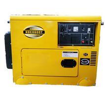 6KW soundproof diesel generator set KDE8600T electric start soundproof generator