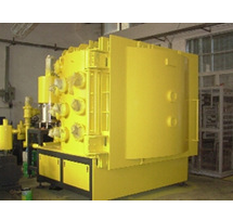 Ceramic gold metallizing coating machine