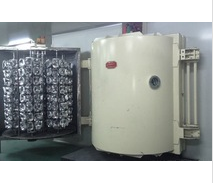 Evaporative aluminized mirror coating machine