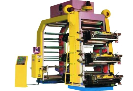 JM series 6 colour high speed Flexographic Printing Machine