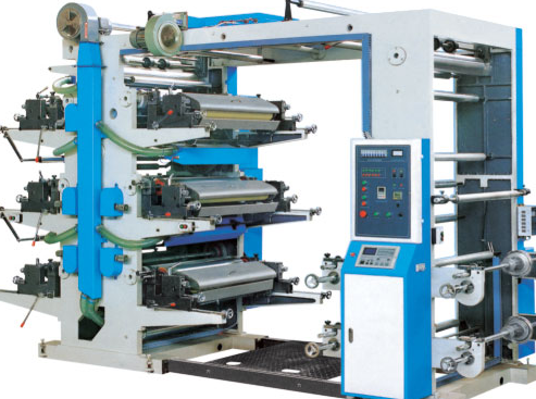 JM Series Flexographic Printing Machine