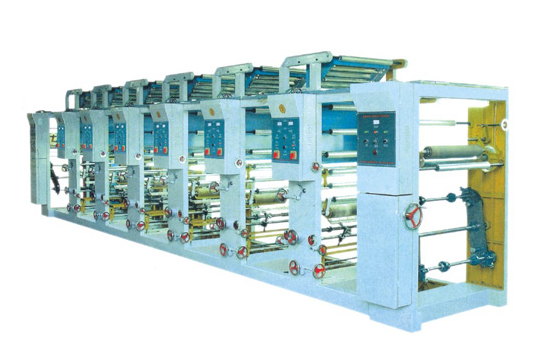 Ordinary Rotogravure Printing Machine