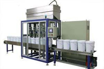Полноавтоматическая машина наполнения краски MWFP