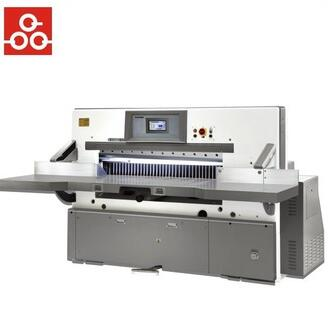 Factory program control paper cutting machine for sale