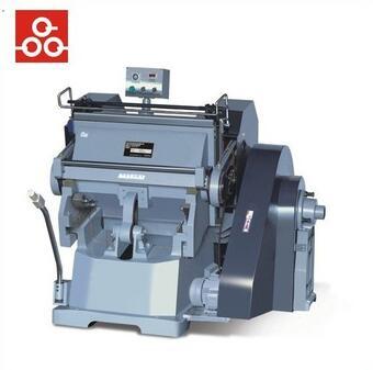 Professional manual corrugated board die cutting and creasing machine