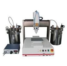 Automatic filling machine for speaker