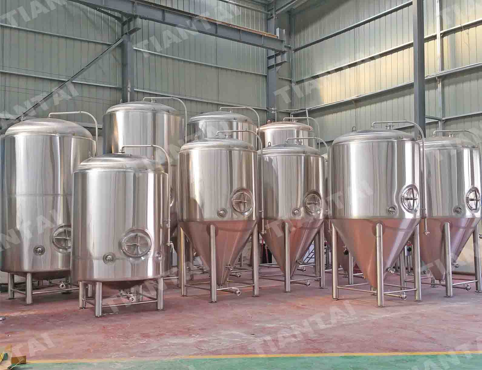3000L double wall conical Fermenter