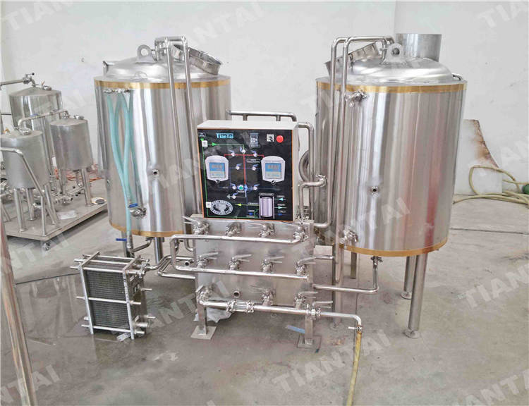 4 bbl Hotel beer making equipment
