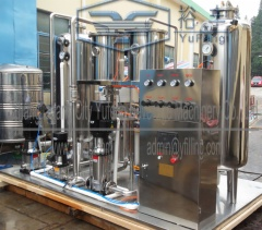 Automatic carbonated beverage mixer/mixing machine QHS-06