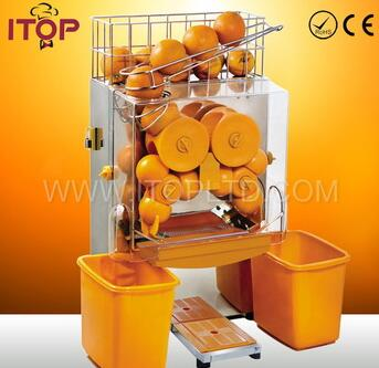 Commercial automatic fruit orange juicer machine