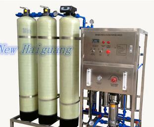 Reverse Osmosis water purifier with water softener