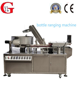 Automatic bottle unscramble machine