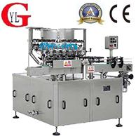 Automatic rotary bottle-washing machine