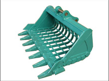 High Quality Excavator Sieve Bucket , Excavator Skeleton Bucket