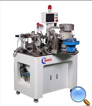 Полноавтоматическая намоточная машина с каркасом звуковой обмоткой XT- 619 (алюминий)