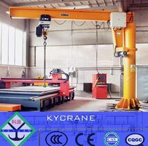 slewing column-fixed type workstation jib crane