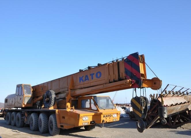 KATO NK 800-E 80T World Famous brand orginal japan Kato Secondhand hydraulic crane