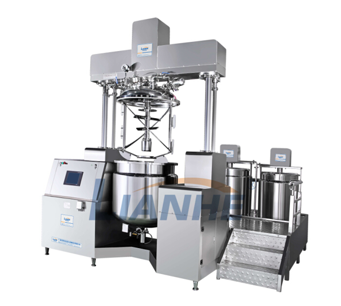 VME Vacuum Emulsifying Machine-LH-VME Series 500L lift cylinder vacuum emulsification machine