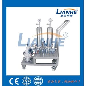 香水制造机成套设备-LH-可移动式双级过滤器