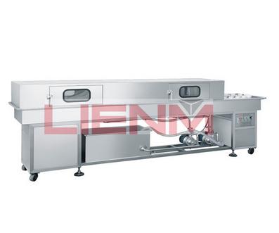 LM-SXP-B double-row batch-type bottle washing machine