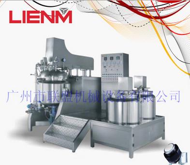 LM-S-ZRG-C 200L升降式内外循环下均质真空乳化机
