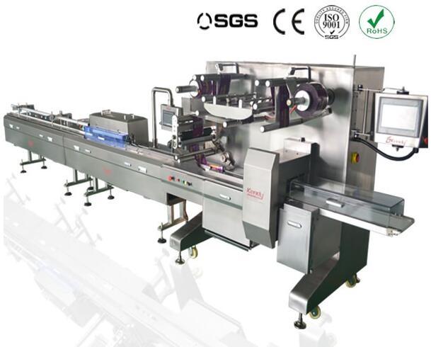 KD–450 High-speed Tri-Servo Packing machine