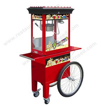 8 Ounces Luxurious Electric Popcorn Machine With Cart