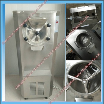 Stainless Steel Automatic Italian Ice Cream Machine