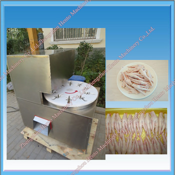2016 Hot Selling Chicken Feet Processing Machine